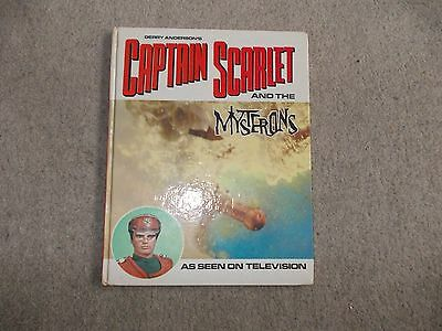 Captain Scarlet and the Mysterons Story Book 1967