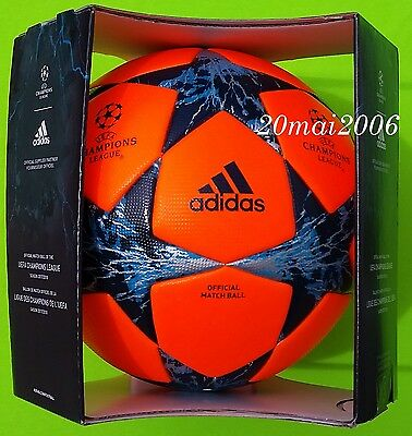 New Official Adidas Match Ball Finale Po 17 Cl 2017/2018 Ballon Football Soccer