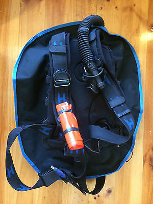 Halcyon Traveler BCD - Harness and Wing - as new + extra's