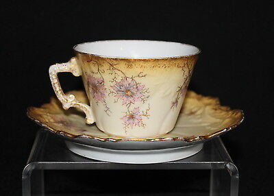 Pretty G.? D. & CIE Limoges France Small Cup and Saucer