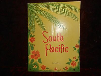 Vintage South Pacific Play Program Iva Withers & Allen Gerrard 1950's