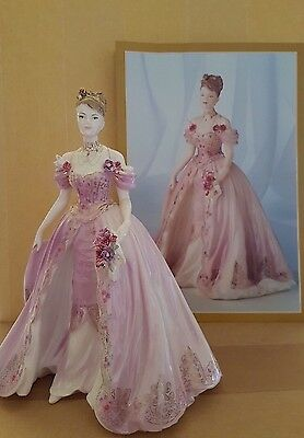 Stunning Coalport Figurine ( The Fairytale Begins ) First Quality Condition
