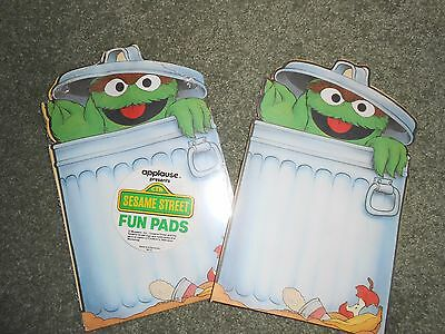 Sesame Street's Oscar the Grouch Fun Note Pads / Invitation Pads