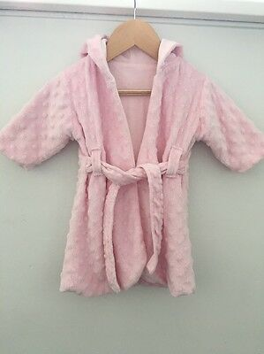 Baby Girls Gorgeous Dressing Gown 0-9 Months