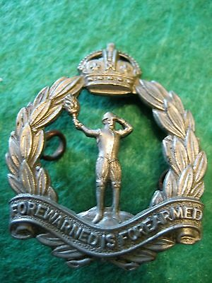 Badge- Royal Observer Corps Cap Badge - KC ( Genuine*)