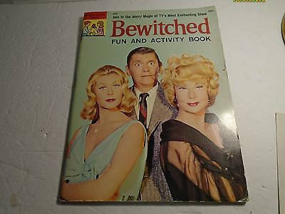 Bewitched Fun And Activity Book 1965 Unused Vf-