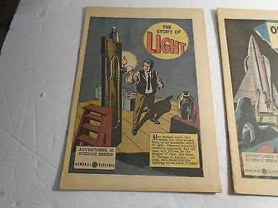 General Electric Comic Giveaway The Story Of Light