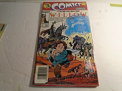 Marvel 3 Comic Books Willow # 1,2,3 Mint In Package