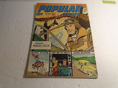 Popular Comics Dell # 104 1944 Vg+ Smilin Jack Terry And The Pirates Etc.