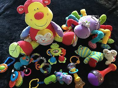 A *GR8CONDN* Baby Soft Toys Rattles Teethers Bundle ~ MUST LOOK!