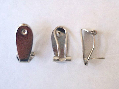 Fingernail Posts - French Clips - Stainless Steel