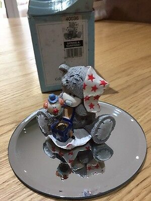 Spring A Surprise - Rare Me To You Bear Figurine