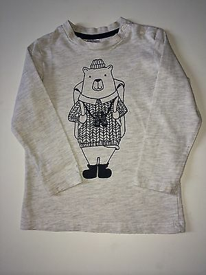 *Baby Boys Clothes/ Cute Baby Boys H&M Top 9/12 Months*