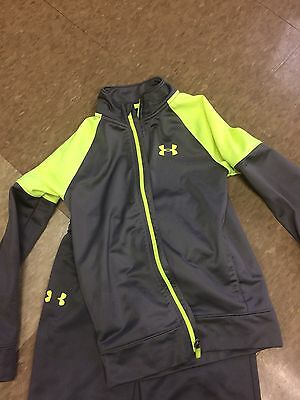 Boys Under Armour Size 7 Pants And Jacket Set