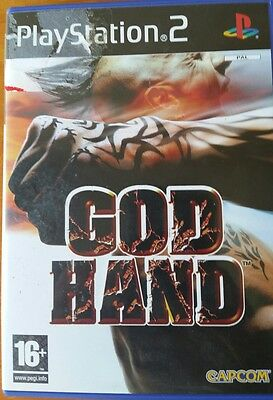 God Hand Capcom  PS 2 Playstation 2 Game complete with Manual pal Rare Title