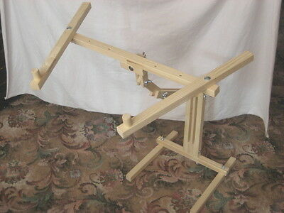 ITA CROSS STITCH FLOOR STAND FOR LARGE FRAMES, tapestry, needlework, embroidery