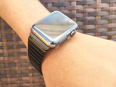 Clear TPU Full Screen Bumper Protector Case Cover For Apple Watch SERIES 2 38MM