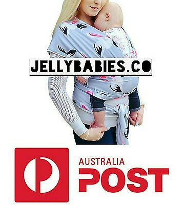 special edition baby wrap / baby  carrier / baby sling (Flamingo)