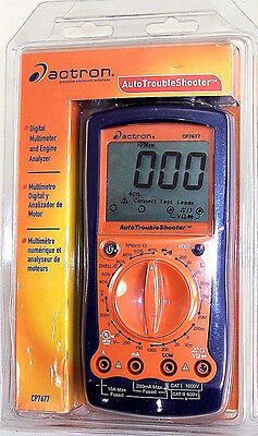Actron CP7677 Automotive TroubleShooter Digital Multimeter & Engine Analyzer NEW