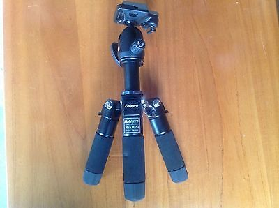 FOTOPRO M-5 Portable Mini Travel Tripod & FPH-53P Ball head For DSLR Camer