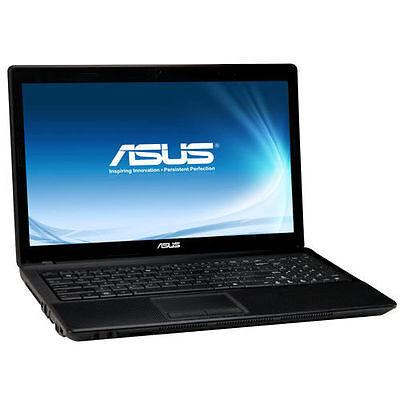 ASUS X54H LAPTOP WINDOWS 10 CORE i3 WEBCAM 320GB 4GB 15.6 LCD HDMI 6792