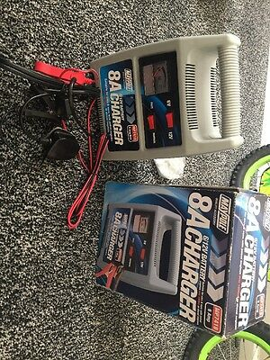 Maypole Battery Charger 6/12V Car Motorcycle 8 Amp