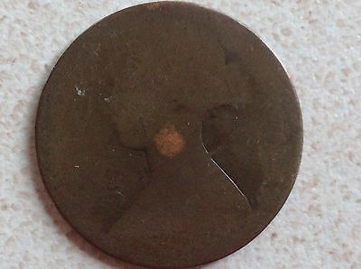1865 Young Head Victoria Penny