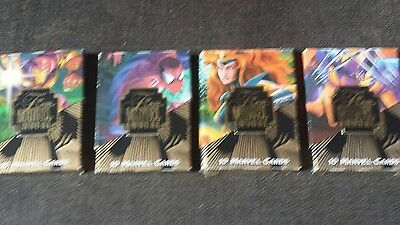 marvel flair 95 trading card and card boxes