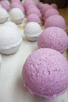 6 Luxurious Silky Skin Essential Oil Infused Bath Bombs by Katie's Goddess Line