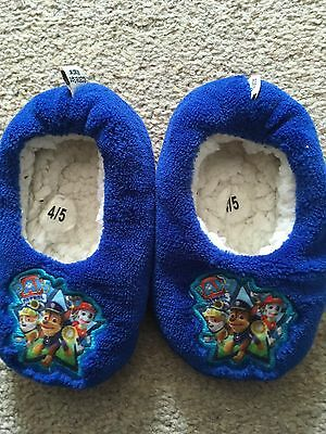 Paw Patrol Slippers 4/5 Infant