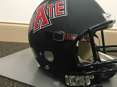 Authentic Arkansas State Football Helmet – Game Worn