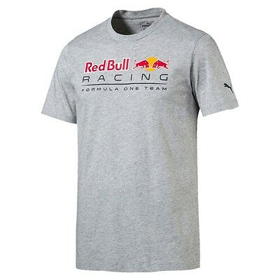 T-shirt RED BULL Logo gris pour homme
