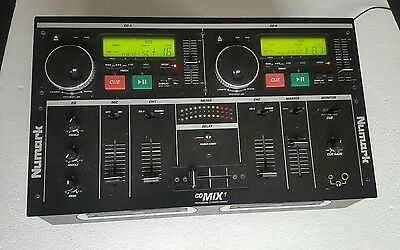Numark Cd Mix1 Pro Dj Mixer Console With Integrated Dual Cd Player Working Order
