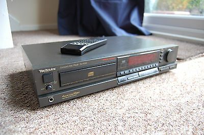 TECHNICS SL-P333 COMPACT DISC CD PLAYER stereo seperate vintage