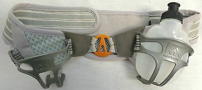 Nathan Trail Mix Hydration Waist Belt In Grey 1 Bottle Running & Jogging Velcro