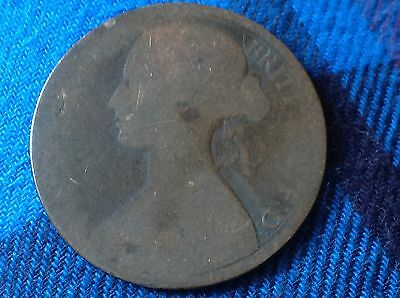 1863 Young Head Victoria Penny