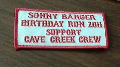 Hells Angels Sonny Barger party run patch 2011 vintage