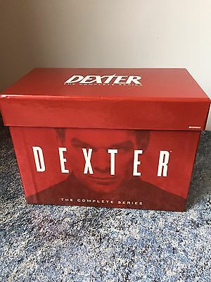 Dexter - Series 1-8 - Complete (DVD, 2013, 33-Disc Set, Boxset)