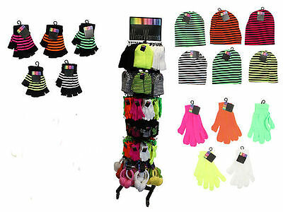 winter warmers stand child gloves beanies scarfs 480pce bulk wholesale lot