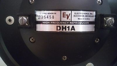 Electrovoice Speaker Horn Dh1A Fully Tested!!!