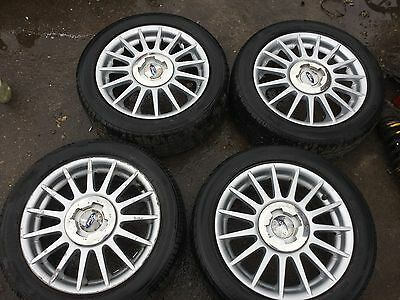 ford fiesta zetec s alloy wheels and tyres 15 inch