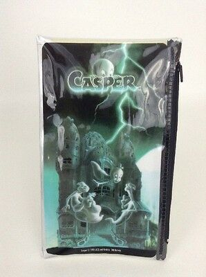 Casper The Friendly Ghost 1995 Pencil Holder Case Pouch Fatso Stinkie Stretch