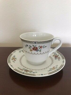 Royal Doulton Kingswood Cup and Saucer Vintage Fine China TC1115 GREAT CONDITION