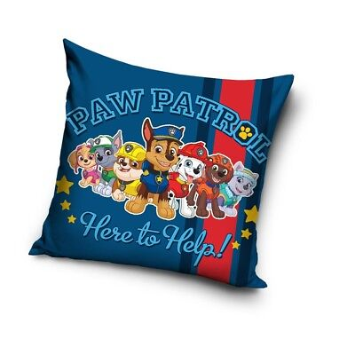 Children Kids Paw Patrol Pillow Case Cushion Cover Square 40 x 40cm Skye Everest