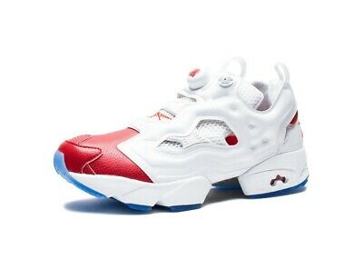 BS5508  Mens Reebok x Undefeated Instapump Fury OG - Red White Question 50f4e662ef99