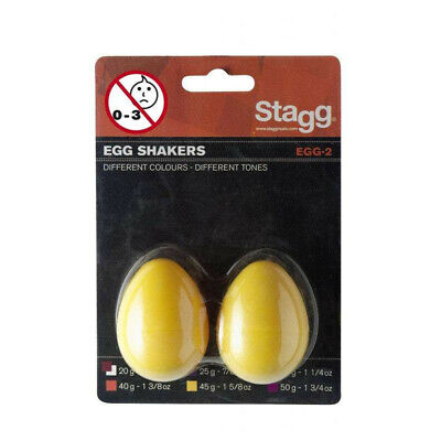 Stagg Egg Shaker Coppia Yellow