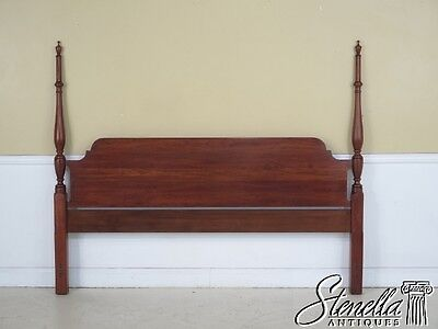 42443E: HENKEL HARRIS King Size Cherry Fairfax Bed Headboard