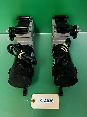 Left & Right 4 Pole Motors for Pronto M91 Sure Step Power Wheelchair #A036