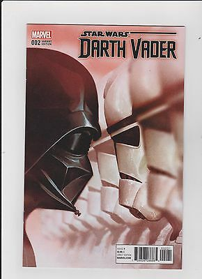 Star Wars: Darth Vader #2. Dramatic 1:25  Variant. 1St Print 2017 Nm/m