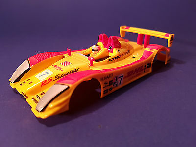 CARRERA GO SLOT CARS PORSCHE RS SPYDER No7 ALMS 2006 BODY 1/43